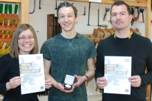Furniture crafts student Jan wins top award