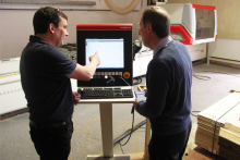 Smart Garden Offices install SCM CNC machining centre