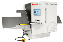SCM's latest machines displayed on four stands at W14