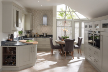 On-trend stone finish for popular Milbourne range