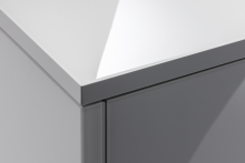 Ultimate gloss surface for KBB components