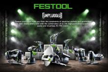 Festool's new generation of cordless power tools