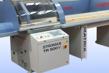 Stromab launch new Matrix V high speed crosscut saw