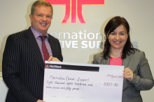IDS charity auction raises £8,800 for Macmillan Cancer Support
