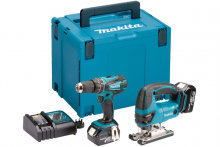 Makita includes twin 18v tools in new LXT combo kits
