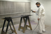 Maxfield Jarvis benefits from Gallito spray finishing facility