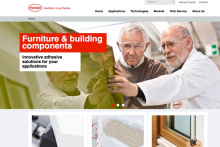 Comprehensive and mobile-friendly website for adhesive solutions