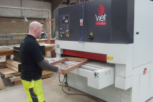 Royal Warrant holder chooses Viet sander