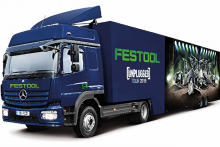 Festool Unplugged truck at a dealer near you!