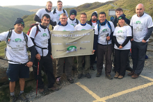 HiB takes charity commitment to new heights in Three Peaks Challenge