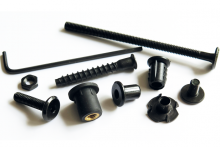 Range of black fasteners now increased
