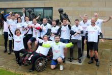 PWS supports Help for Heroes veterans with Blood, Sweat & Gears