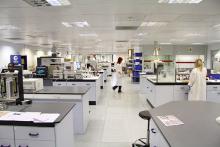 Test lab expands