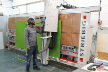 Striebig takes control at busy furniture maker