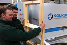 Soukup solutions finding favour with creative window and joinery firms