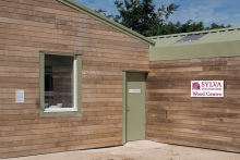 Wood Waste Technology heater installed in new centre for innovation in home-grown wood