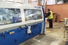 Hardwood Sales invests in Leadermac machinery