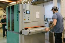 deVOL opts for Premium sanding solution from Kündig