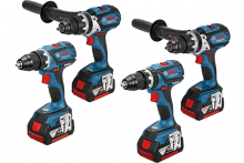 Bosch announces new generation of cordless screwdrivers for professionals
