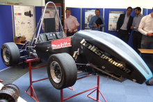 Makita power tools support Team Bath Racing Electric for Formula Student