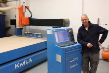 Bespoke kitchen manufacturer invests in Kimla CNC router
