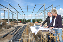 Ostermann busy constructing new logistics complex in Bocholt