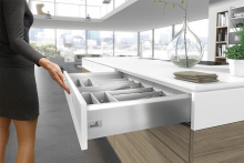 Hettich: a new dimension to soft close drawers