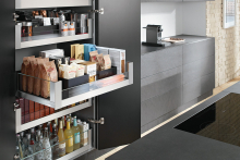 Space Tower – perfect for kitchens, bedrooms and bathrooms
