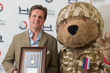 Hero Award for PWS & Blood Sweat & Gears' fundraisers