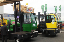 Combilift putting on a show at Ligna
