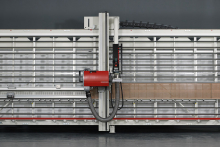 Striebig's new vertical panel saw