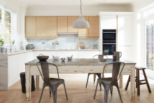 Ellerton, the new handleless Shaker from PWS' Alchemy collection