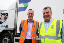 SCA Merchant Services' new branded livery