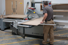 Exmedia increases production with Altendorf F45 panel saw