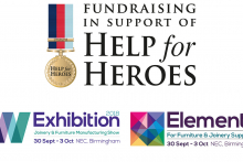 Help For Heroes confirmed as the W Exhibition and Elements charity partner