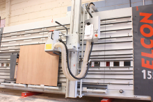 MK Ply Lining upgrades with Elcon vertical panel saw