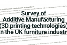 Perception and use of Additive Manufacturing in the UK Furniture Industry