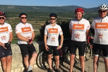 Furniture Makers raises £14,000 cycling up Mont Ventoux