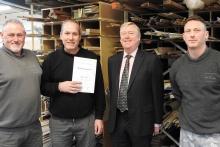 Smallbone and Mark Wilkinson make three milestone career awards