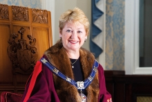 Dids Macdonald OBE installed as new Master of The Furniture Makers' Company