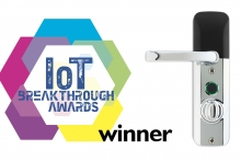 Mighton Products' Avia Smart Lock wins global 2020 IoT Breakthrough Award