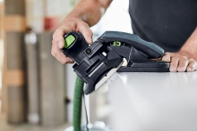 Sand every edge easily with the Festool's new edge sander