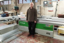 AMS helps Steve Burt Woodworking improve accuracy and reduce waste