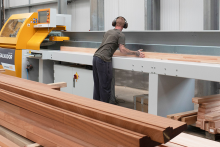 Salvador Crosscut optimises production at Bairds Windows