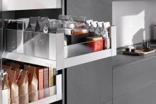 "Space Tower from Blum – ""simply the best"" larder solution"