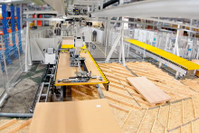SCM's integrated solution for staircase production