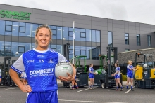Combilift gives Monaghan ladies Gaelic football team a lift