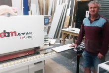 Ney's 'First Class' Airtronic edgebander solution