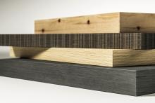Wood veneer edgings from Ostermann