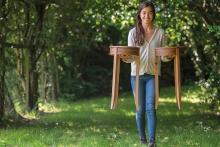 Annual furniture design talent showcase at Chippendale School